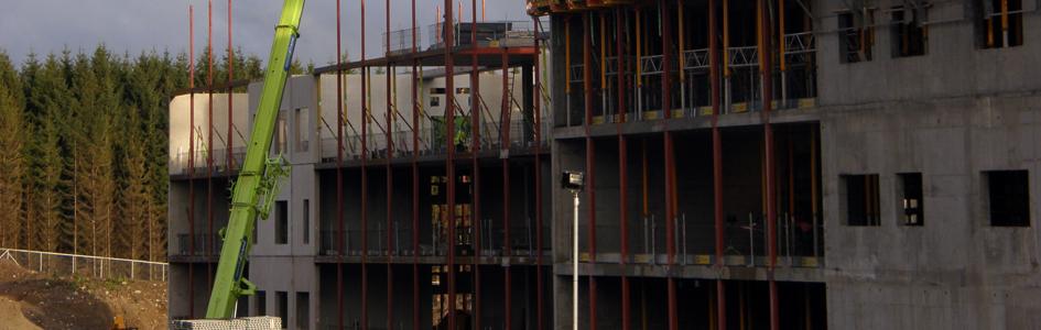 Byggingen av nye Sykehuset Østfold skrider fram