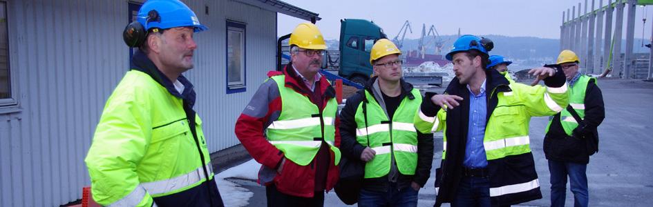 Finbesök på fabriken i Uddevalla