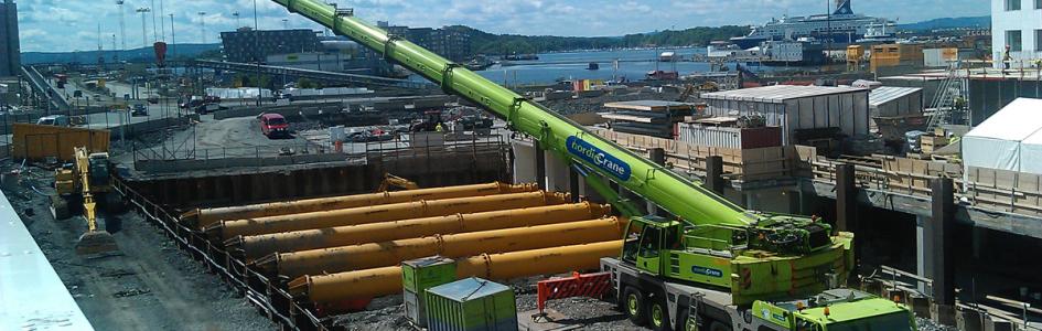 Distributør for hydraulisk avstivning i Norge