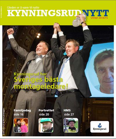 Personalmagasinet KynningsrudNytt 2-2014