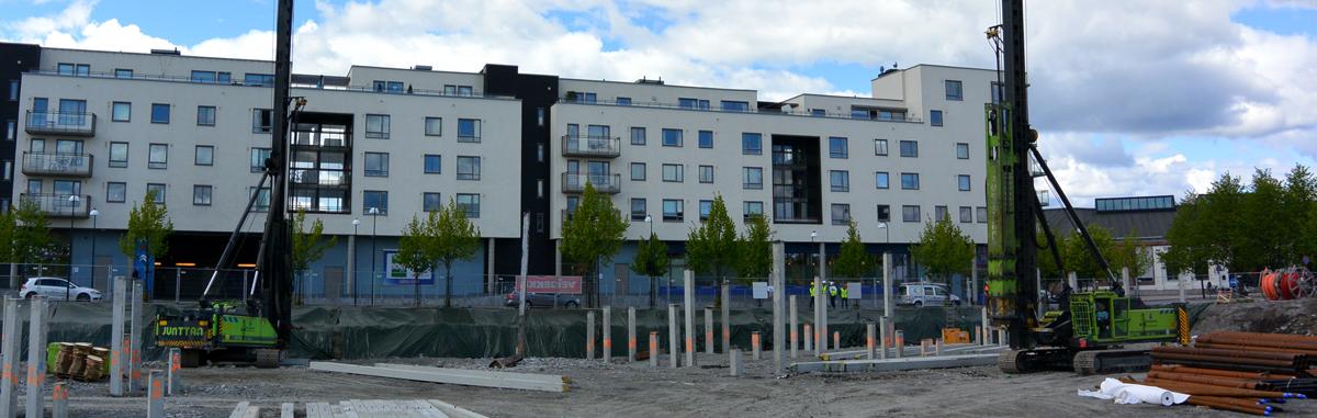 "Fundamenterer ""Portalen"" i Lillestrøm"