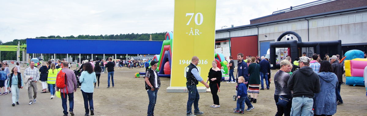Stort firande av Kynningsrud 70 år i Uddevalla