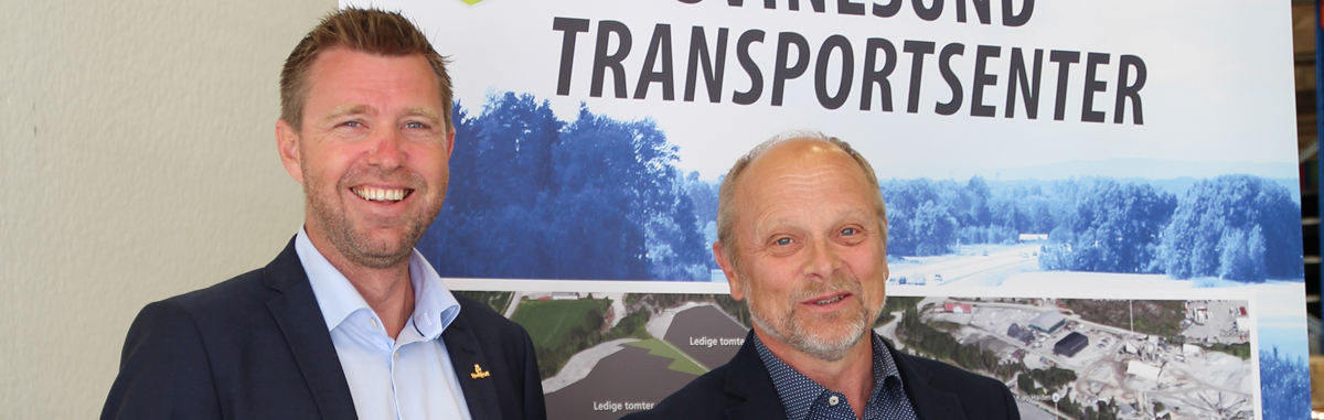 Samferdselsministeren åpnet Svinesund Transportsenter