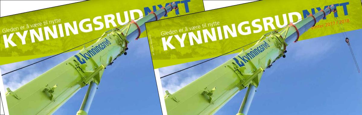 Personalmagasinet KynningsrudNytt er utgitt