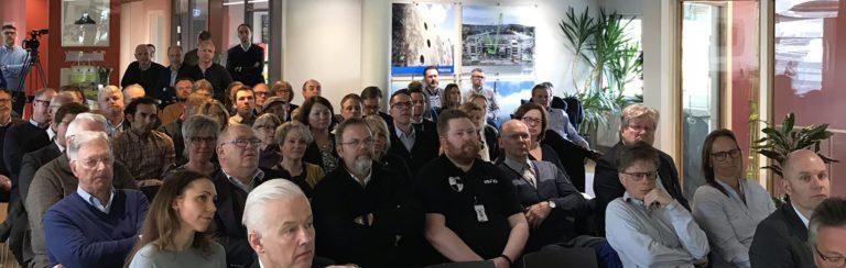 """Vellykket """"Ordførerens frokostmøte"""" på Halden-kontoret"""