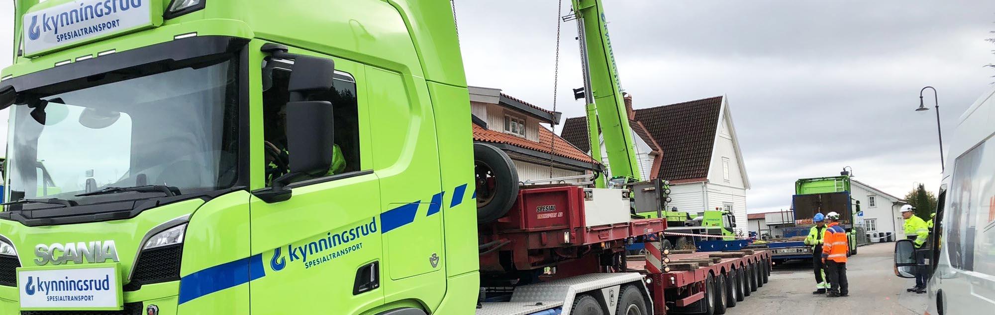 Husflytting: 30 tonn hus på flyttefot