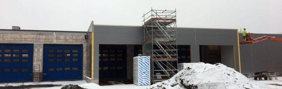 Bygger om och förnyar i Göteborg