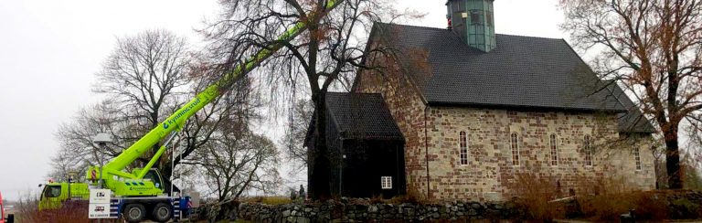 Klokkebytte i Rygge kirke