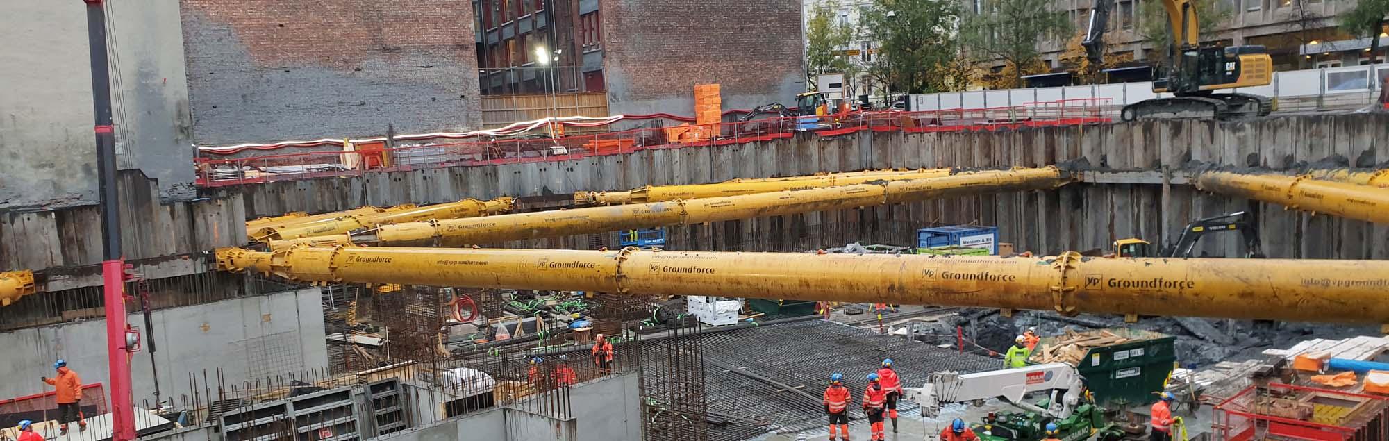 Fundamentering er med på oppgradering av Oslo sentrum
