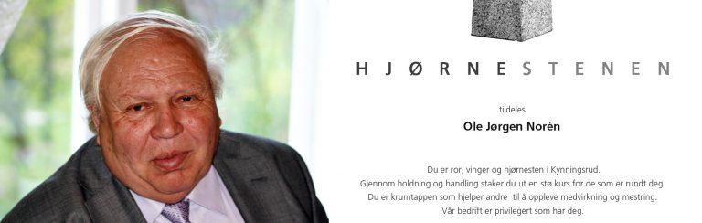 Ole Jørgen Norén til minne