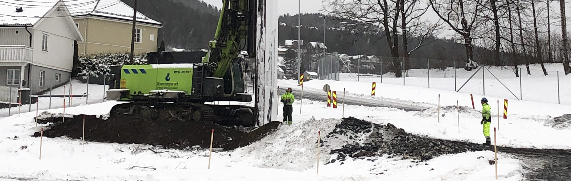 Dobbeltspor Vestfoldbanen: Fundamenterer kulvert