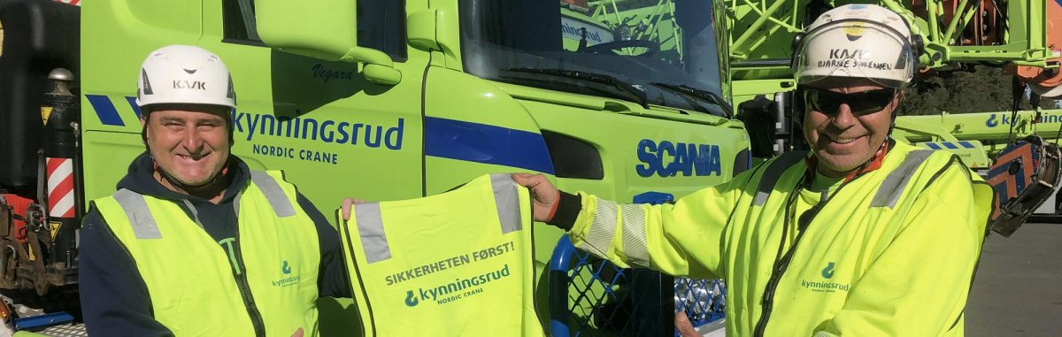 Sikkerheten først er tema for HMS Uka 2020 i Kynningsrud Nordic Crane