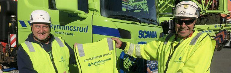 «Sikkerheten først» i Kynningsrud Nordic Crane