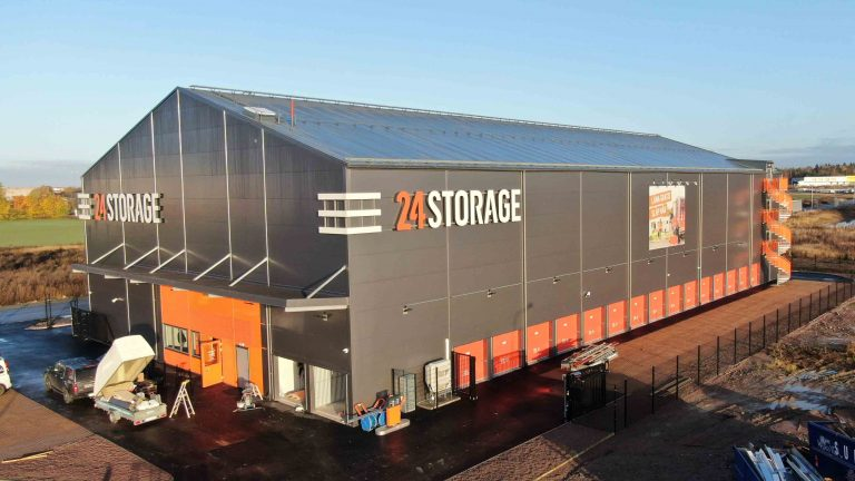 Bygger to nye lagerbygg for 24Storage
