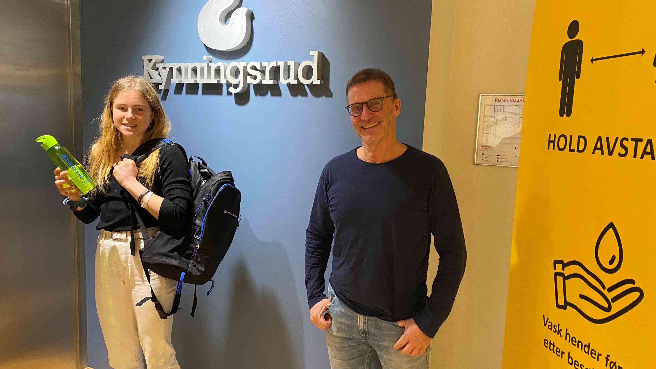 Henriette Jæger har signert ny avtale med Torkil Kynningsrud