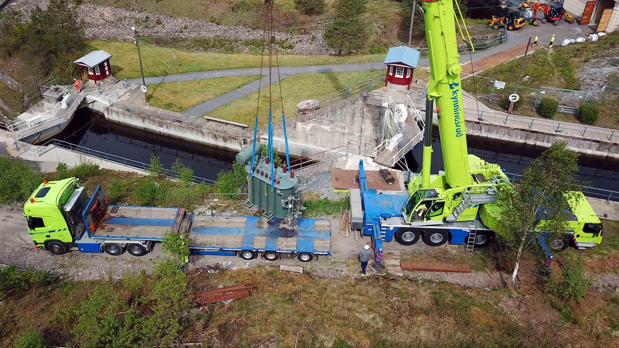 Kynningsrud Nordic Crane satser i Vestfold og Telemark
