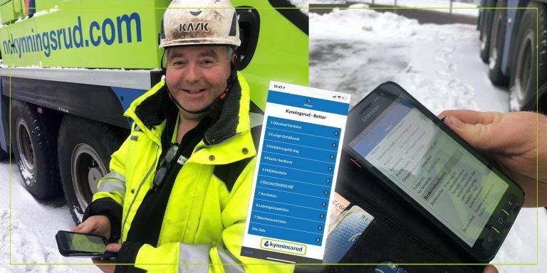 «Sikkerheten først!» med HMS-app
