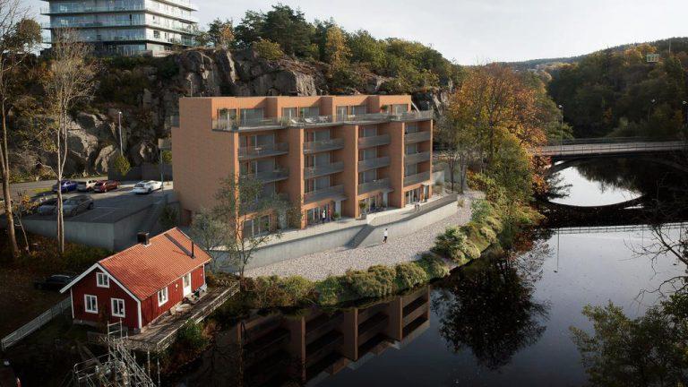 Skal bygge boligblokk i Uddevalla