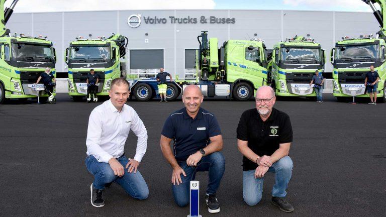 Kranbiler for 25 mill kroner til Kynningsrud Nordic Crane